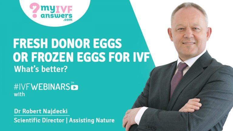 Frozen Donor Eggs vs Fresh Donor Eggs - What's Better?