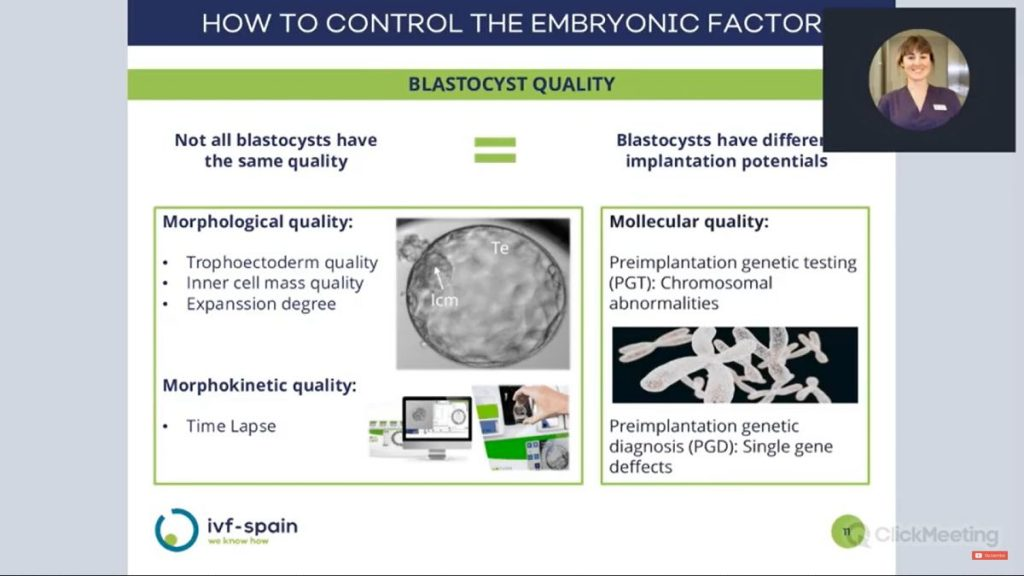 Blastocyst quality - IVF-Spain