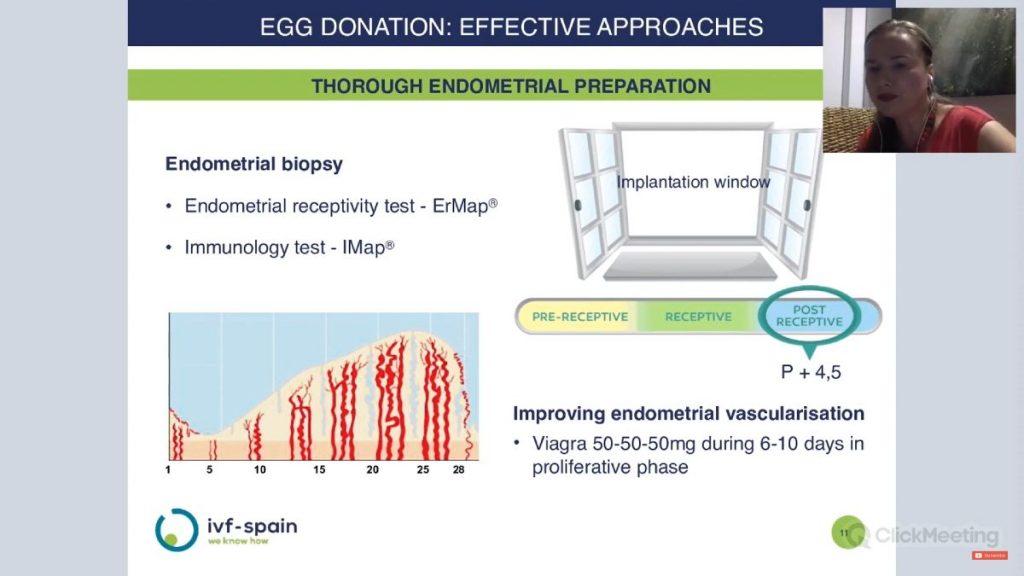 Endometrial preparation - IVF-Spain