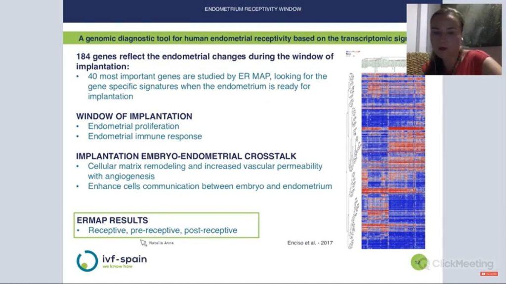 Endometrium receptivity window - IVF-Spain