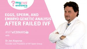 Jon Aizpurua from IVF Spain Group talks about Genetic diagnostics after failed IVF