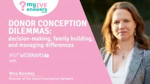 Nina Barnsley - Director of Donor Conception Network helping IVF patients in UK