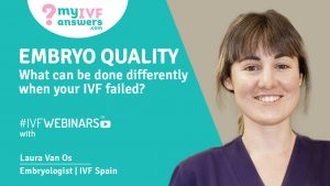 #IVFWEBINARS with Embryologist Laura Van Os about Embryo Quality and Failed IVF - the 5-day Period and Factors