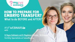 How to prepare for embryo transfer?