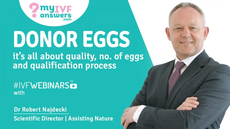 Donor eggs - quality, no of eggs, and qualification process