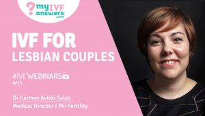 #IVFWEBINARS about IVF for Lesbian Couples in Spain - ROPA Method explained by Dr Salas - Medical Director at Phi Fertility