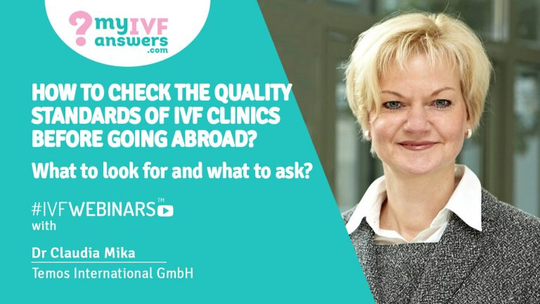 How to check the quality standards of IVF clinics before going abroad? #IVFWEBINARS