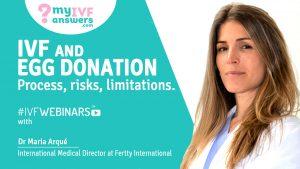 The process, risks and limitations in IVF eggdonation #IVFWEBINARS