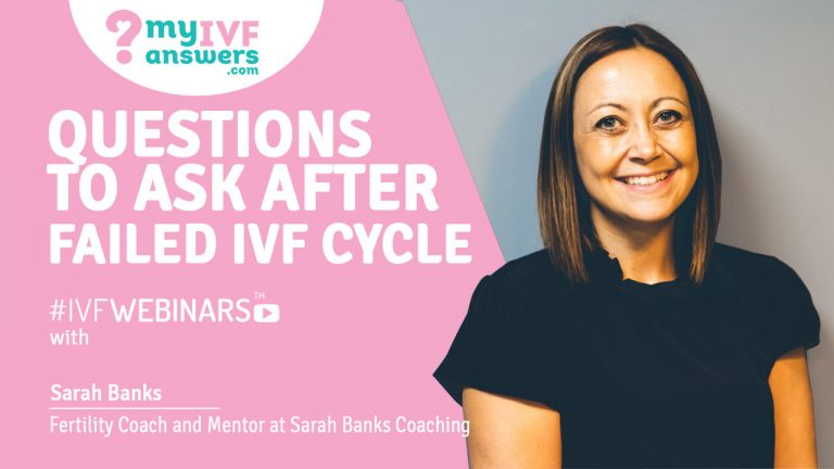 Questions to ask after failed IVF #IVFWEBINARS
