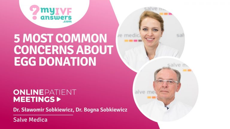 5 most common concerns about egg donation #OnlinePatientMeetingation