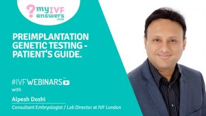 Preimplantation genetic testing - patient's guide #IVFWEBINARS