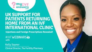 UK support for patients returning home from an IVF international clinic