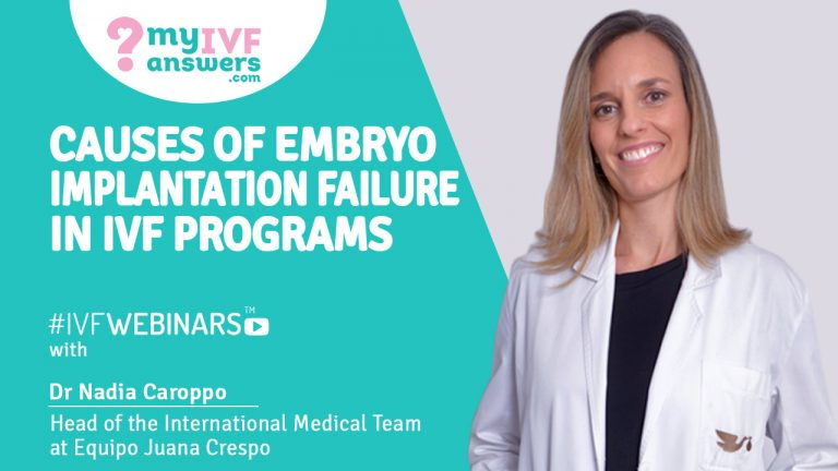 Implantation failure - what are the causes? #IVFWEBINARS