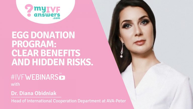 Egg donation program: clear benefits and hidden risks