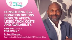 Considering your egg donation options in South Africa. Legislation, cost and availability.
