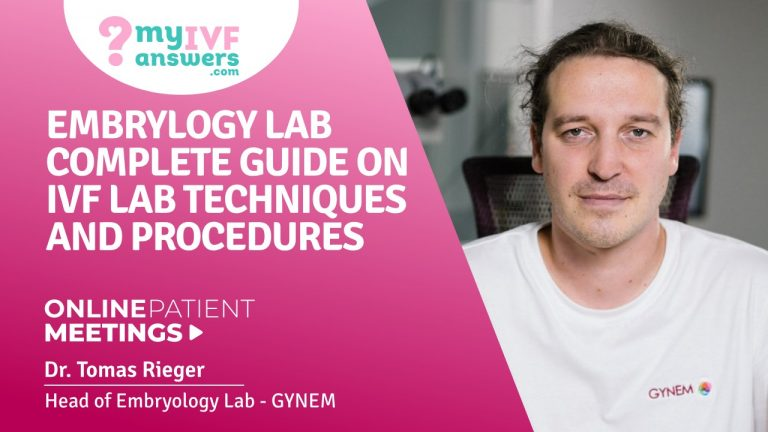 Embrylogy lab guide on IVF lab techniques and procedures #OnlinePatientMeetings