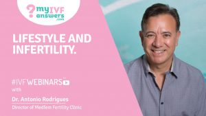 Lifestyle and infertility #IVFWEBINARS