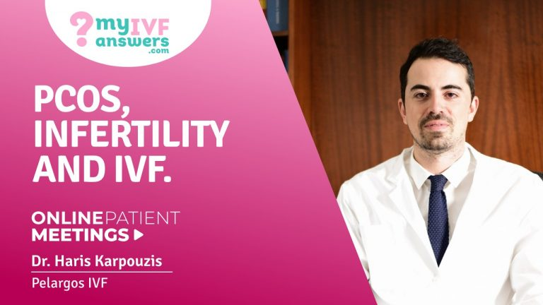 PCOS, infertility and IVF #OnlinePatientMeeting