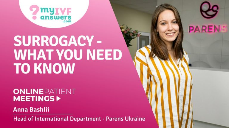 Surrogacy - what you need to know #OnlinePatientMeetings