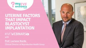 Uterine factors that impact blastocyst implantation