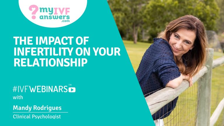 The impact of infertility on your relationship #IVFWEBINAR