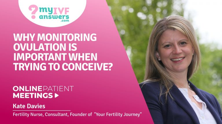 Why monitoring ovulation is important when trying to conceive?