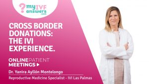 Cross Border Donations: the IVI experience #OnlinePatientMeeting