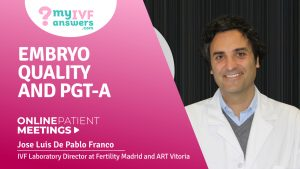 Embryo quality and PGT-A
