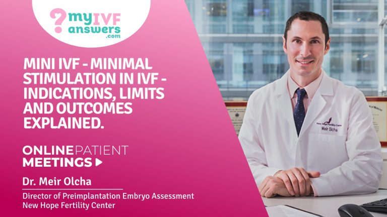 Mini IVF - minimal stimulation IVF