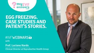 The stories of patients who froze their eggs #IVFWEBINARS