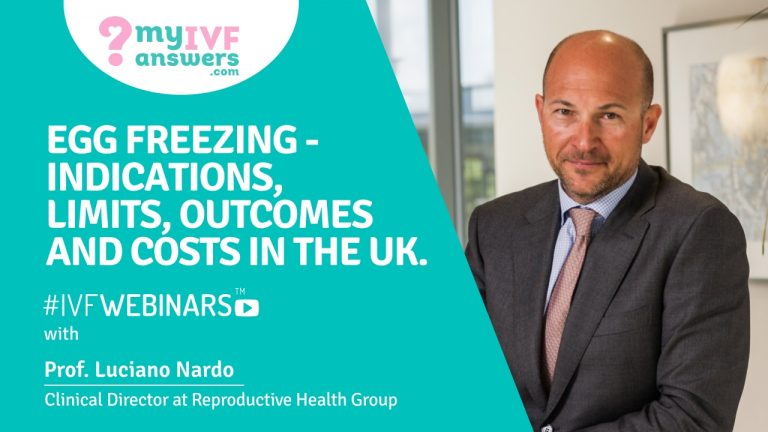 All about egg freezing in the UK #IVFWEBINARS