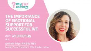 Webinar on emotional support during IVF