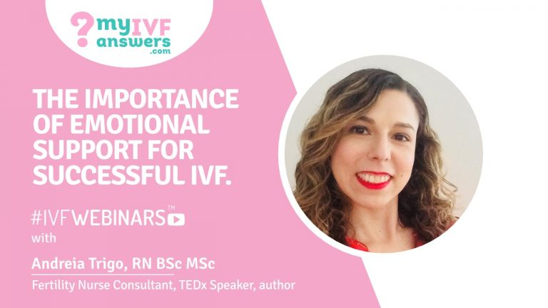 Webinar on emotional support during IVF