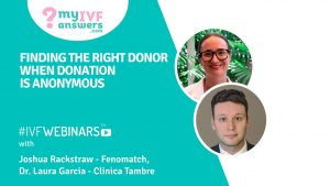 Anonymous donation - Finding the right donor.