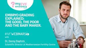 The embryo grading in IVF