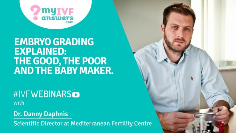 The embryo grading in IVF
