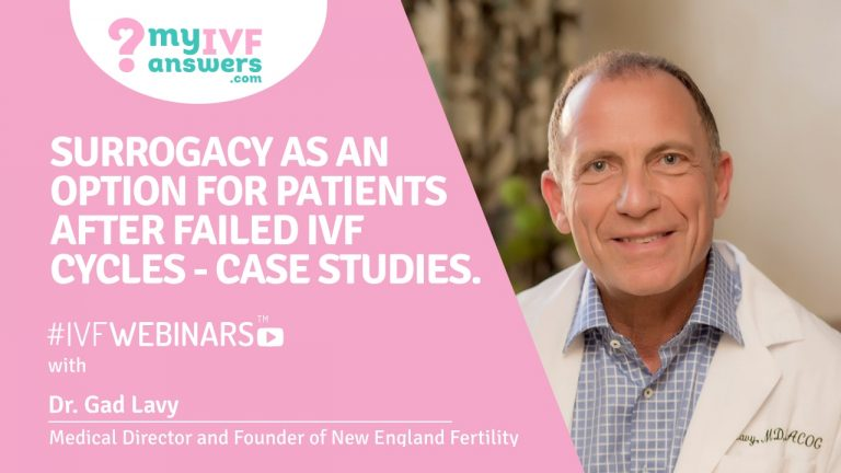 Surrogacy as the next step after failed IVF attempts