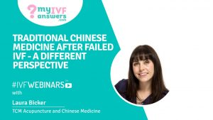 Failed IVF attempts and Chinese Medicine