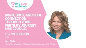 Your fertility journey and how it has an impact on your mind, body and soul
