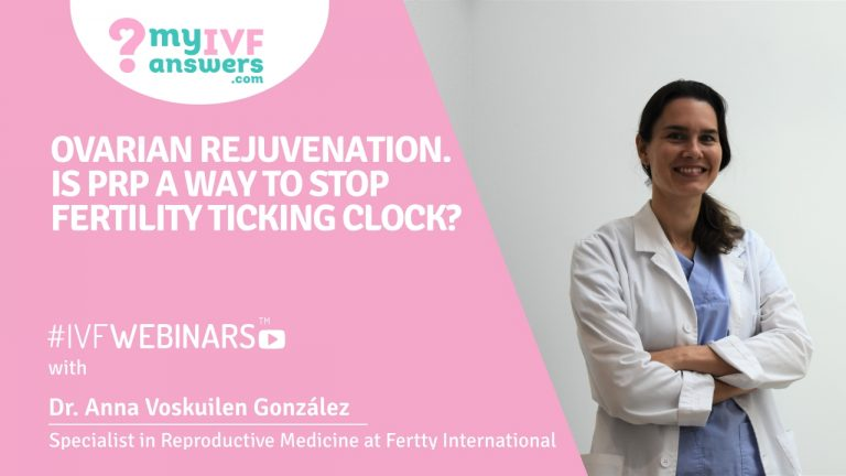 PRP - is it a way to stop biological clock?