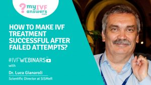 How to turn failed IVF attempts into success?