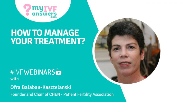 IVF treatment and how to manage it.