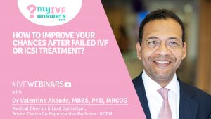 Improving your IVF chances after failed IVF and ICSI attempts